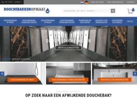 douchebakkenopmaat.nl