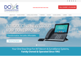dovecommunications.com