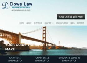 dowebankruptcylaw.com