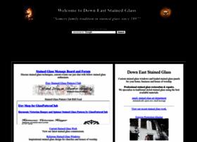 downeaststainedglass.com