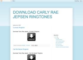 download-carly-rae-jepsen-ringtones.blogspot.tw