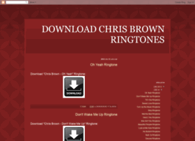 download-chris-brown-ringtones.blogspot.tw