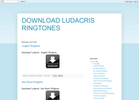 download-ludacris-ringtones.blogspot.jp