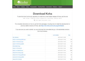 download.koha-community.org