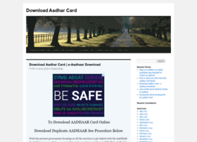 downloadaadharcard.com