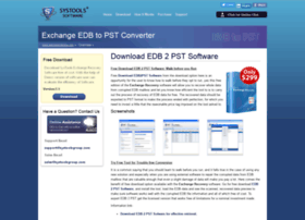 downloadedb2pstsoftware.edb2pstsoftware.com
