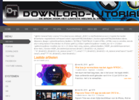 downloadtutorial.nl
