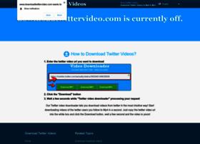 downloadtwittervideo.com