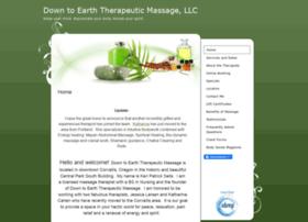 downtoearth.massagetherapy.com