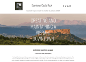 downtowncastlerock.com