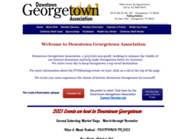 downtowngeorgetownassociationtx.org