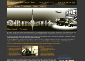 downtowntorontolimo.ca