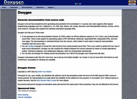 doxygen.nl