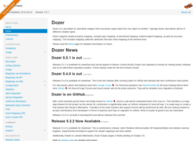 dozer.sourceforge.net