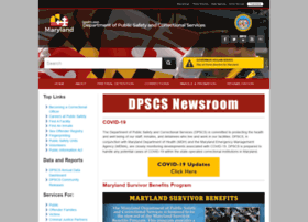 dpscs.maryland.gov