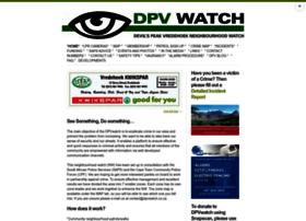 dpvwatch.co.za