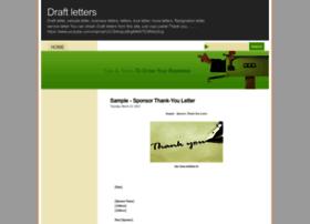 draftletters.blogspot.com