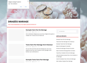 dragees-mariage.fr
