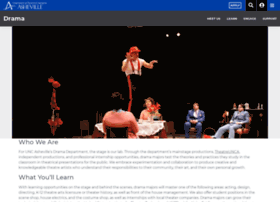 drama.unca.edu