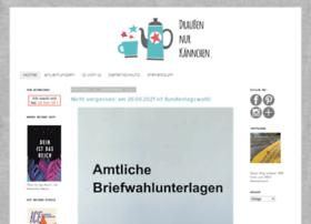 draussennurkaennchen.blogspot.de