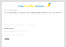 drawsomethingcheats.com