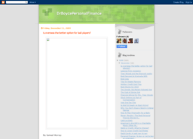 drboycepersonalfinance.blogspot.com