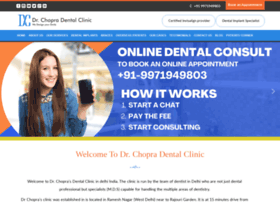 drchopradentalclinic.com