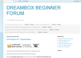 dreambox-beginner-forum.blogspot.com