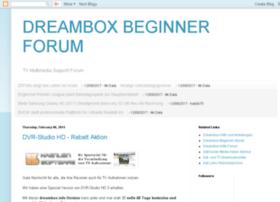 dreambox-beginner-forum.blogspot.com
