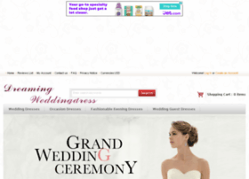 dreamingweddingdress.com