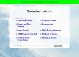dreamjournal.com