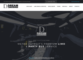 dreamlimousinesdetroit.com