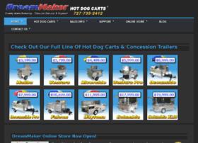 dreammakerhotdogcarts.com