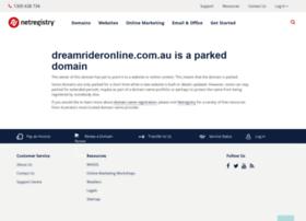 dreamrideronline.com.au