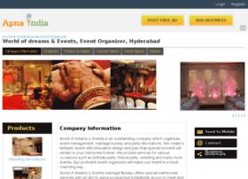 dreamsandevents-hyderabad.apnaindia.com