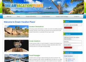 dreamvacationplans.com