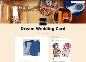 dreamweddingcard.tumblr.com