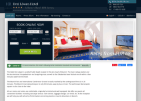 drei-loewen-munich.hotel-rez.com