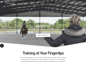 dressagetrainingonline.com