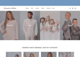 dressedinwhite.com