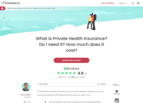 drewberryhealthinsurance.co.uk