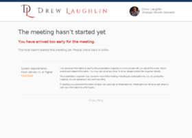 drewlaughlin.enterthemeeting.com