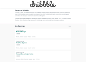 dribbble.workable.com
