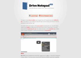 drivenotepad.appspot.com