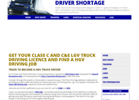 drivershortage.co.uk