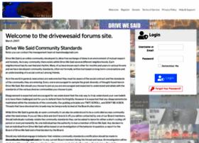 drivewesaid.com