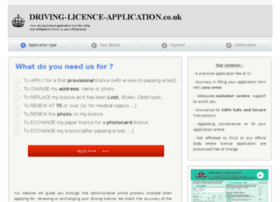 driving-licence-application.co.uk