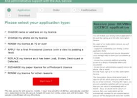 driving-licence.easyprocedures.co.uk