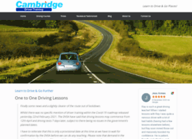 drivinginstructorcambridge.com
