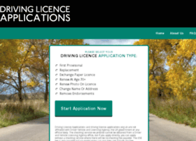 drivinglicenceapplications.org.uk